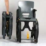 Wheelable - portable shower chair and Portable Commode Chair