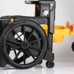 Wheelable - portable shower chair and Portable Commode Chair - SEATARA