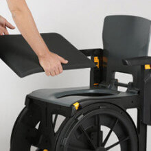 Upholstered Seat for WheelAble Commode and shower chair