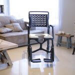 Highly adjustable commode and shower chair!