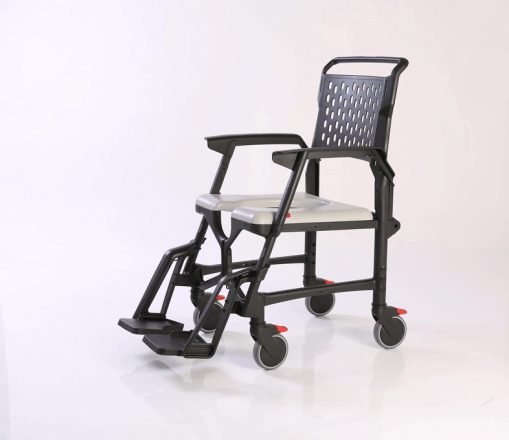 mobile shower chair commode