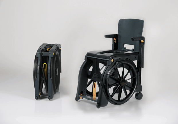 portable commode chair travel