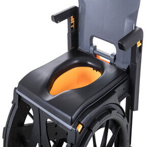 Removable Pan - travel shower chair