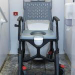 shower and commode chair
