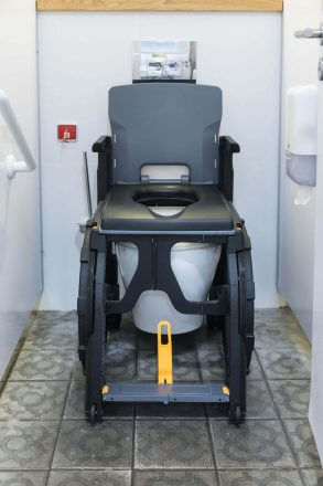 portable shower commode chair