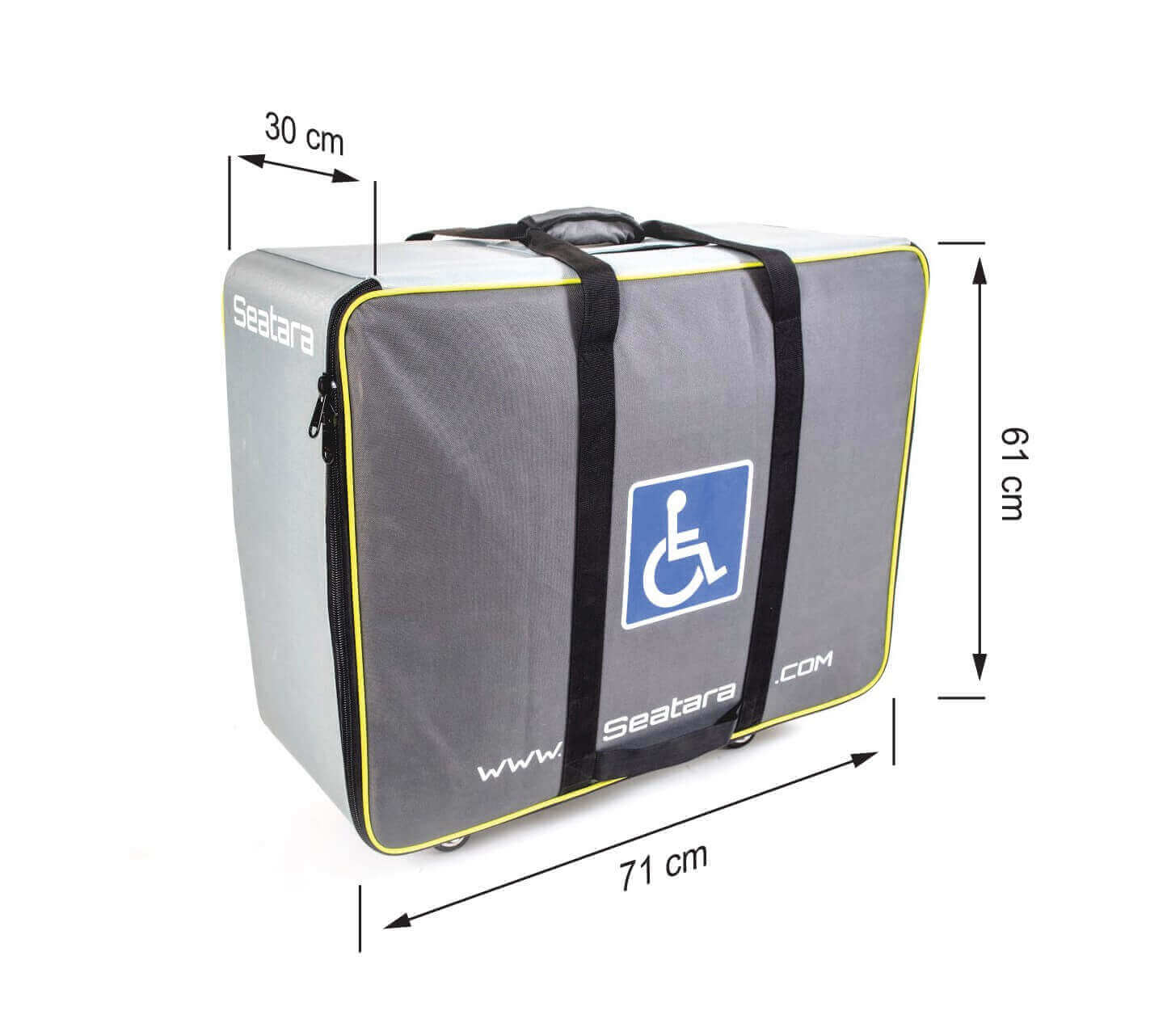 commode and shower chair for comfortable daily use, easy to assemble for occasional traveling
